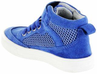 Richter Kinder Halbschuhe Sneaker blau Velourleder Jungen-Schuhe 6542-341-6911 lagoon Ola – Bild 5