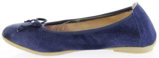 Richter Kinder Ballerinas blau Velourleder Mädchen Schuhe 3510-342-7200 atlantic Yvonne – Bild 7