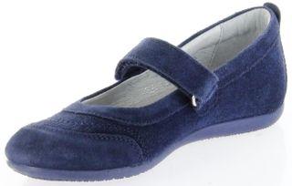 Richter Kinder Ballerinas blau Velour Klett Mädchen Schuhe 3412-341-7200 atlantic Adele – Bild 8
