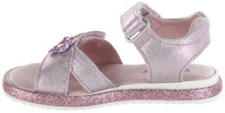 Richter Kinder Sandaletten pink Metallicleder Mädchen Schuhe 5302-341-3110 candy Romea – Bild 7