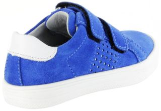 Richter Kinder Halbschuhe blau Velourleder Jungen Schuhe 6536-341-6911 lagoon Ola – Bild 3