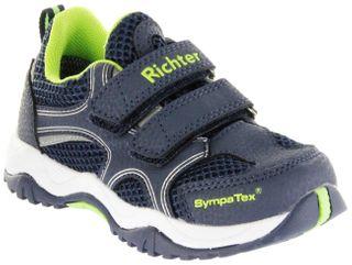Richter Kinder Halbschuhe Sneaker Outdoor blau Sympatex Jungen Schuhe 6431-341-7200 atlantic Future