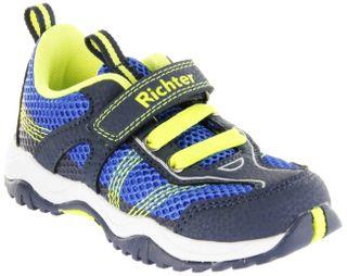Richter Kinder Halbschuhe Sneaker Outdoor blau Textil Jungen Schuhe 6421-341-7201 atlantic neon Future – Bild 1