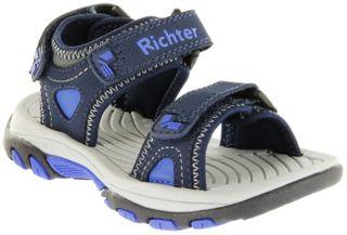 Richter Kinder Sandaletten Outdoor blau Tecbuk Jungen-Schuhe 8301-341-7201 atlantic Slope – Bild 1