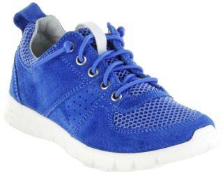Richter Kinder Halbschuhe Sneaker blau Velourleder Jungen Schuhe 6622-341-6910 lagoon Run – Bild 1