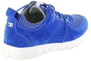 Richter Kinder Halbschuhe Sneaker blau Velourleder Jungen-Schuhe 6622-341-6910 lagoon Run – Bild 3