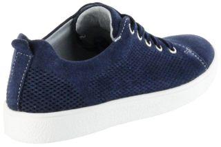 Richter Kinder Halbschuhe blau Velourleder Mädchen-Schuhe 3621-341-7200 atlantic Rimmel – Bild 3