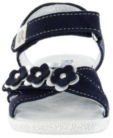 Richter Kinder Sandaletten blau Velourleder Mädchen Schuhe 5004-343-7201 atlantic Sissi  – Bild 9