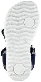 Richter Kinder Sandaletten blau Velourleder Mädchen Schuhe 5004-343-7201 atlantic Sissi  – Bild 6
