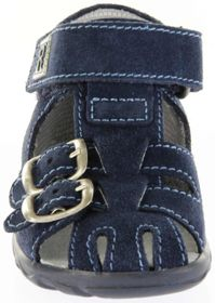Richter Kinder Lauflerner-Sandalen blau Velour Jungen Schuhe 2106-341-7200 atlantic Terrino – Bild 9