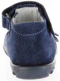 Richter Kinder Lauflerner-Sandalen blau Velour Jungen Schuhe 2106-341-7200 atlantic Terrino – Bild 4