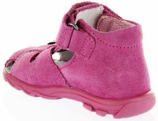 Richter Kinder Lauflerner-Sandalen Velour pink Mädchen Schuhe 2106-341-3300 passion Terrino – Bild 5