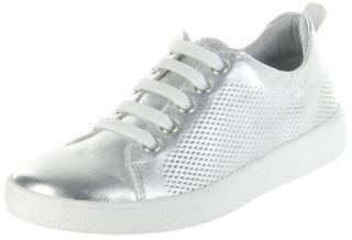 Richter Kinder Halbschuhe Sneaker silber Metallicleder Mädchen Schuhe 3621-342-0200 Rimmel – Bild 1