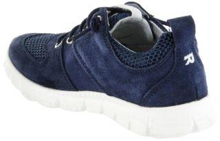 Richter Kinder Halbschuhe Sneaker blau Velourleder Jungen Schuhe 6622-341-7200 atlantic Run – Bild 5