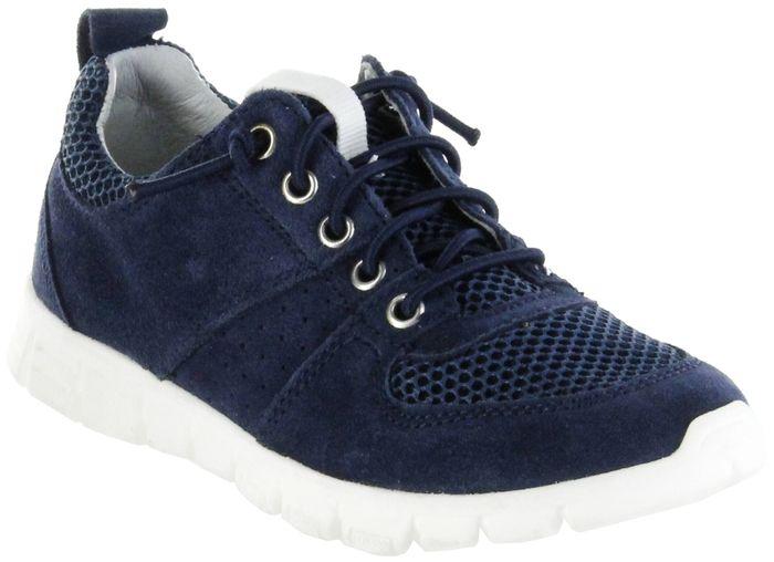 Richter Kinder Halbschuhe Sneaker blau Velourleder Jungen Schuhe 6622-341-7200 atlantic Run