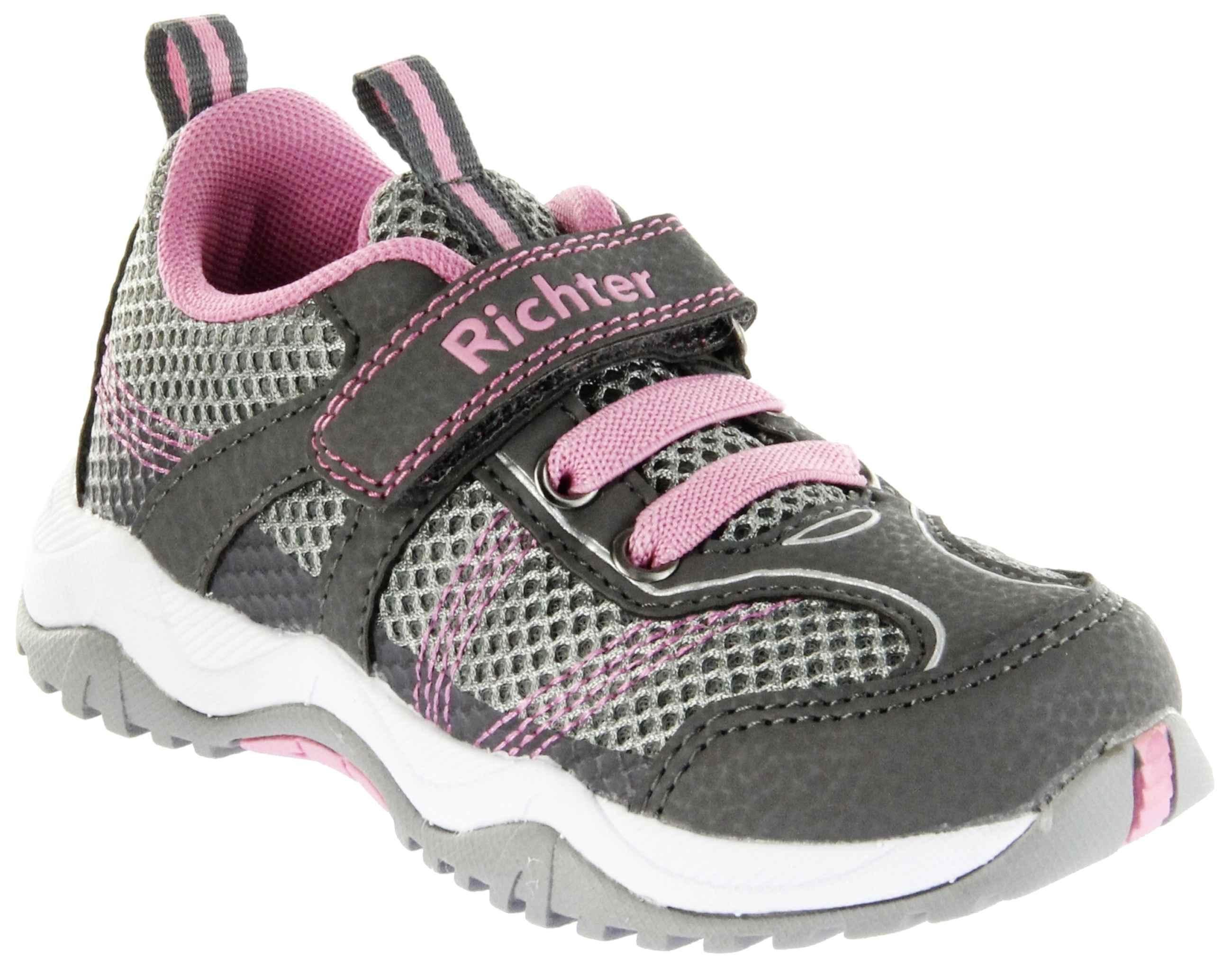 Richter Kinder Halbschuhe Sneaker Outdoor grau Textil Mädchen Schuhe 6421 341 6301 ash Future
