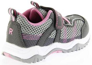 Richter Kinder Halbschuhe Sneaker Outdoor grau Textil Mädchen Schuhe 6421-341-6301 ash Future – Bild 3