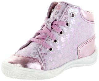 Richter Kinder Lauflerner Velourleder pink Mädchen Schuhe 0325-342-3111 candy Regina S – Bild 8
