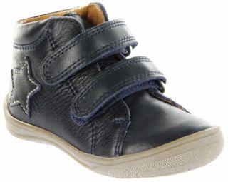 Richter Kinder Lauflerner Glattleder blau Jungen-Schuhe 0334-341-7200 atlantic Regina S – Bild 1