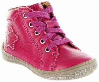 Richter Kinder Lauflerner Glattleder pink Mädchen-Schuhe 0324-341-3300 passion Regina S – Bild 1