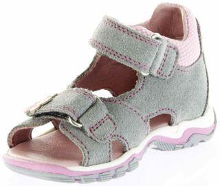 Richter Kinder Lauflerner-Sandalen grau Velourleder Mädchen Schuhe 2302-341-6101 rock Jumbo – Bild 8