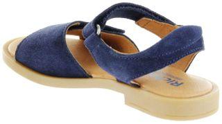 Richter Kinder Sandaletten blau Velourleder Mädchen Schuhe 5401-341-7200 atlantic Barbara  – Bild 5