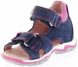 Richter Kinder Lauflerner-Sandalen blau Velourleder Mädchen Schuhe 2302-341-7201 atlantic Jumbo – Bild 8