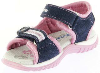 Richter Kinder Sandaletten blau Velourleder Mädchen-Schuhe 5106-341-7201 atlantic Motion – Bild 8