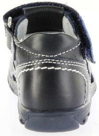 Richter Kinder Lauflerner-Sandalen blau Glattleder Jungen Schuhe 2103-341-7201 atlantic Terrino – Bild 4