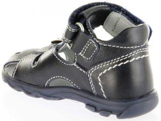 Richter Kinder Lauflerner-Sandalen blau Glattleder Jungen Schuhe 2103-341-7201 atlantic Terrino – Bild 5