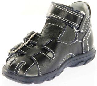 Richter Kinder Lauflerner-Sandalen blau Glattleder Jungen Schuhe 2103-341-7201 atlantic Terrino – Bild 8