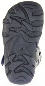 Richter Kinder Lauflerner-Sandalen blau Glattleder Jungen Schuhe 2103-341-7201 atlantic Terrino – Bild 6