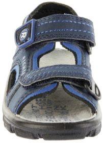 Richter Kinder Sandaletten Outdoor blau Lederdeck Jungen 8101-341-7201 atlantic Adventure – Bild 9