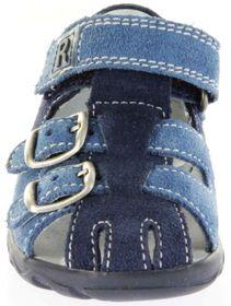 Richter Kinder Lauflerner-Sandalen blau Velourleder Jungen Schuhe 2105-342-7202 atlantic Terrino – Bild 9
