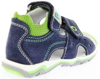 Richter Kinder Lauflerner-Sandalen blau Velourleder Jungen Schuhe 2301-341-7202 atlantic Jumbo – Bild 3