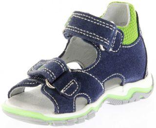 Richter Kinder Lauflerner-Sandalen blau Velourleder Jungen Schuhe 2301-341-7202 atlantic Jumbo – Bild 8
