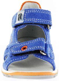 Richter Kinder Lauflerner-Sandalen blau Velourleder Jungen Schuhe 2301-341-6911 lagoon Jumbo – Bild 9
