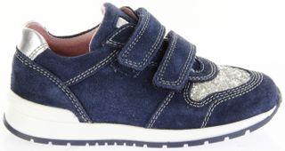 Richter Kinder Halbschuhe Sneaker blau Velourleder Mädchen Schuhe 3331-342-7201 atlantic Volley – Bild 2