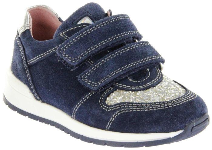 Richter Kinder Halbschuhe Sneaker blau Velourleder Mädchen Schuhe 3331-342-7201 atlantic Volley