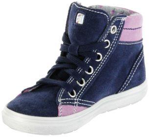 Richter Kinder Halbschuhe Blinkies Sneaker blau Velourleder Mädchen-Schuhe 4449-341-7201 atlantic Ilva – Bild 8