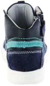 Richter Kinder Halbschuhe Sneaker blau Velourleder Jungen Schuhe 6545-341-7201 atlantic Ola – Bild 4