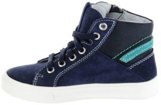 Richter Kinder Halbschuhe Sneaker blau Velourleder Jungen-Schuhe 6545-341-7201 atlantic Ola – Bild 7