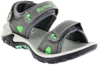 Richter Kinder Sandaletten Outdoor grau Tecbuk Jungen Schuhe 8301-341-6301 ash Slope – Bild 1