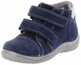 Richter Kinder Lauflerner blau Velourleder SympaTex Jungen Schuhe 0438-342-7201 atlantic Mogli – Bild 1