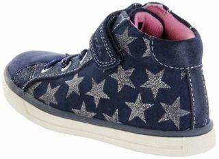 Lurchi Kinder Halbschuhe Sneaker blau Velour Mädchen Schuhe 33-13619-22 navy Sienna – Bild 3