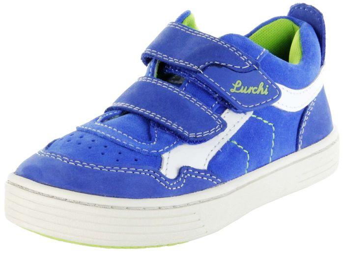Lurchi Kinder Halbschuhe Sneaker blau Leder Jungen Schuhe 33-14014-42 royal Hanno