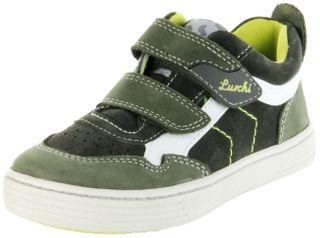 Lurchi Kinder Halbschuhe Sneaker grün Leder Jungen Schuhe 33-14014-49 olive Hanno – Bild 1