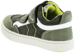 Lurchi Kinder Halbschuhe Sneaker grün Leder Jungen Schuhe 33-14014-49 olive Hanno – Bild 3