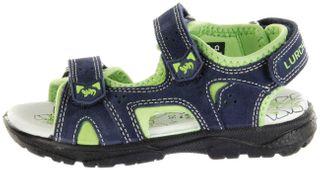 Lurchi Kinder Sandaletten blau Velourleder Lederdeck Jungen Schuhe 33-32004-42 navy Kreon – Bild 2
