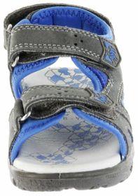 Lurchi Kinder Sandaletten grau Velourleder Lederdeck Jungen Schuhe 33-32004-45 Kreon – Bild 9